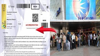 "WATCH: Despite Introducing ""Paperless Ticketing"" At IFFI, Films Buffs Still Face The Same Old Woes!"