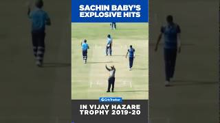 Sachin Baby's mind-blowing sixes in the Vijay Hazare Trophy 2019-20