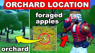 Consume Foraged Apples at the Orchard (Trick Shot Mission) - Fortnite Chapter 2