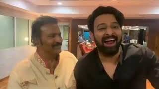 Prabhas And Mohan Babu Making Fun | Full Of Comedy | Sahoo | Top Telugu TV