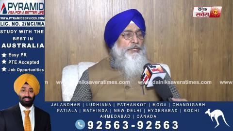 Exclusive: सुनिए नए प्रधान के लिए संभावित चेहरों पर क्या बोले SGPC के Chief Secretary Roop Singh