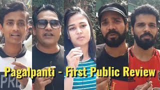 Pagalpanti Movie - First Public Review - Anil K, John A, Ileana,Pulkit S, Urvashi, Kriti K, Arshad W