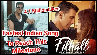 Filhall To Be The Fastest Song To Reach This Milestone, Akshay Kumar And Nupur Sanon Chemistry Spark