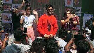 Kartik Aaryan Bhumi & Ananya At Mithibai College   Pati Patni Aur Woh Promotion