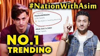 Bigg Boss 13 | Asim Riaz Fans Trend #NationWithAsim NO. 1 Trend | BB 13 Video
