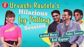 Urvashi Rautelas Hilarious Leg-Pulling By Anil Kapoor Arshad Warsi, Pulkit Samrat | Pagalpanti