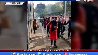 Ahmedabad - લો ગાર્ડન પાસે 5 BRTS બસને બંધ કરાવાઇ