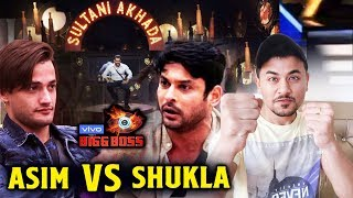 Bigg Boss 13 | Salman Khan Gives SULTANI AKHADA Challenge To Siddharth Vs Asim | Weekend Ka Vaar