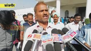 ग्रामीणों ने सरपंच व सचिव के खिलाफ की शिकायत  cglivenews