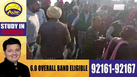 Sangrur में Vijay Inder Singla की कोठी का घिराव करने जा रहे Teachers पर लाठीचार्ज
