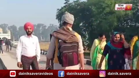 Corridor खुलने के बाद आज पहली बार बड़ी गिनती में श्रद्धालु पहुंचे Kartarpur Sahib