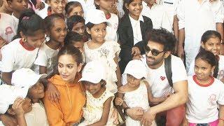 Pagalpanti: Pulkit Samrat And Kriti Kharbanda Host Special Screening For NGO Kids