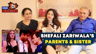 Bigg Boss 13 | Shefali Is NOT Behind SID -ASIM FIGHT | Shefali Zariwala Parents & Sister Interview