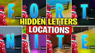 ALTER EGO REWARDS | COLLECT F-O-R-T-N-I-T-E LETTERS HIDDEN in Loading Screen Fortnite | TamashaBera