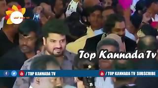 Surjan Lokesh at Dhruva Sarja Prerana Wedding Reception || Top Kannada TV
