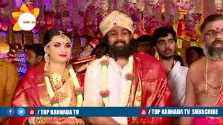 Druva Sarja Wedding Video Part 1 || Dhruva Sarja and Prerana Marriage