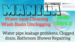 MANILA     Plumbing Services 》Plumber at Your Home ☆ Bathroom Shower Repairing ◇near me ● ■ ♡¤▪●○°•◇