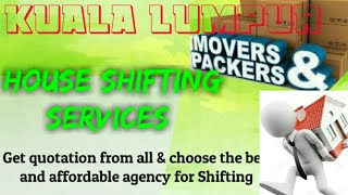 KUALA LUMPUR    Packers & Movers 》House Shifting Services ♡Safe and Secure Service ☆near me 》Tips