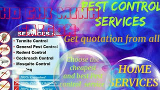 HO CHI MINH SAIGON  Pest Control Services 》Technician ◇ Service at your home ☆ Bed Bugs ■ near me ☆