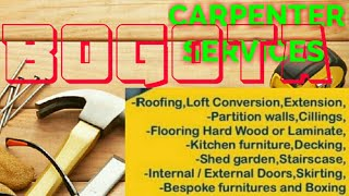 BOGOTA       Carpenter Services 》Carpenter at Your Home ♤ Furniture Work  ◇ near me ● Carpentery ♡