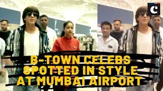 B-Town celebs spotted in style at Mumbai airport