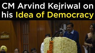 CM Arvind Kejriwal addressed the Commonwealth Youth Parliament hosted by the Delhi Assembly