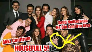 Akshay Kumar Confirms Housefull 5 In This Interesting Way, Sajid Nadiadwala Also Gave PositiveSignal
