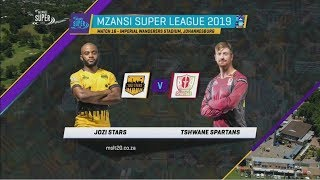 Highlights | Jozi Stars vs Tshwane Spartans | MSL 2019 | Match 16
