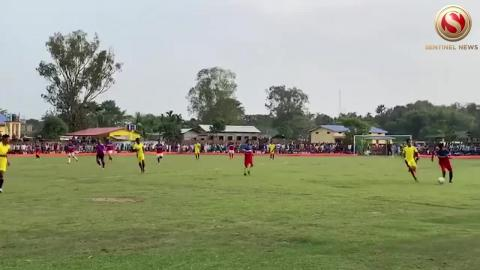 Bhotagoan Yuba Sangha organized football competition in the name of late Lafikul Islam Ahmed in Kokrajhar