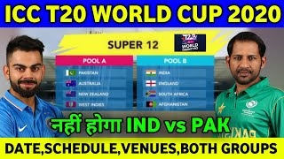 ICC T20 World Cup 2020 : Full Schedule,Venues,Dates,Timings,Group Teams & ,Much More