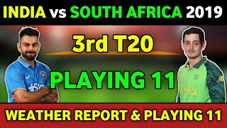 India vs South Africa 2nd T20 Preview & Both Teams Final Playing 11
