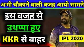 IPL 2020 - Why Robin Uthappa Ruled Out From Kolkata Knight Riders ?