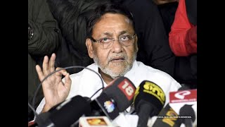 Maha govt formation: 'Game over for BJP' says Nawab Malik of NCP