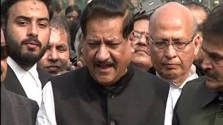 SC orders Floor Test in Maharashtra: Abhishek Manu Singhvi and Prithviraj Chavan address Media