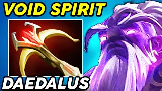 DAEDALUS VOID SPIRIT DOTA 2 PATCH 7.23 GAMEPLAY UPDATE