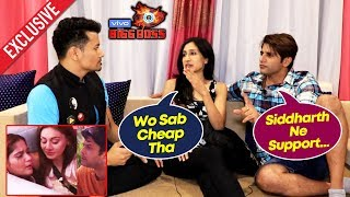 Bigg Boss 13 | Karanvir Bohra & Teejay REACTION On Siddharth Not Supporting Aarti | BB 13 Exclusive