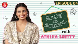 Athiya Shetty's CRAZY WhatsApp Group Tales With School Buddies | Back To School