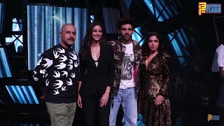 Pati Patni Or Woh Cast At Indian Idol 12 Set Kartik Aaryan, Ananya Panday & Bhumi Pednekar