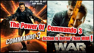 The Power Of Commando 3 Action Video Is Better Than Whole War Movie!
