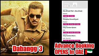 Dabangg 3 Advance Booking Opens In UAE