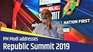 PM Modi addresses Republic Summit 2019 in New Delhi | PMO
