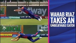MSL 2019: Wahab Riaz takes an outstanding catch to dismiss Faf du Plessis