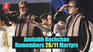 Amitabh Bachchan Pays Tribute To The Martyrs Of 26/11 Terrorist Attacks