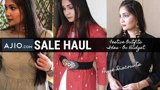 Ajio Kurti Haul 2019 | Ajio Online Shopping | Online Kurti Haul | Designer Kurti | Nidhi Katiyar