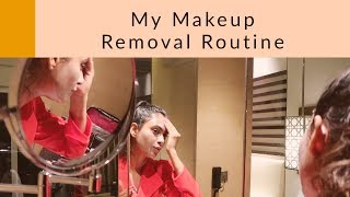 Makeup removal using Pixi Beauty and Moha Herbal Skin Care products.