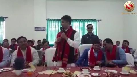State Minister Pijush Hazarika inaugurate OPD Diphu Medical College Karbi Anglong