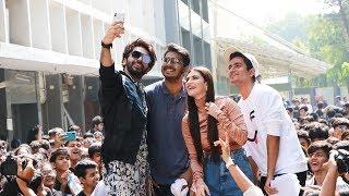 Yeh Saali Aashiqui Movie Promotion At Mithibai College | Vardhan Puri, Shivaleeka Oberoi