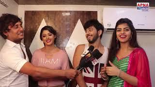 Mere Pyar Se Mila De - On Location - Sanchita Banerjee,  Kishan Rai, Ashi Tiwari