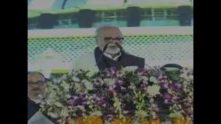 Watch: Balasaheb Thorat, Nitin Raut, Subhash Desai and Chhagan Bhujbal take oath of office