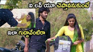ఐ లవ్ యూ చెప్తావనుకుంటే ఇలా గుద్దావేంటిరా | Prementha Panichese Narayana Movie Scenes